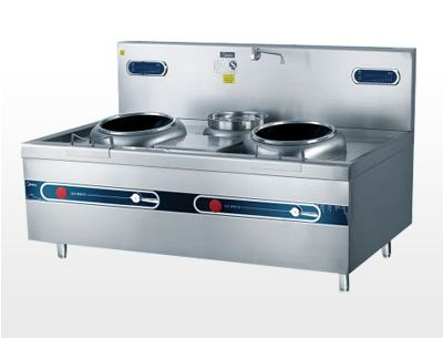 Electromagnetic double-headed cooking stove